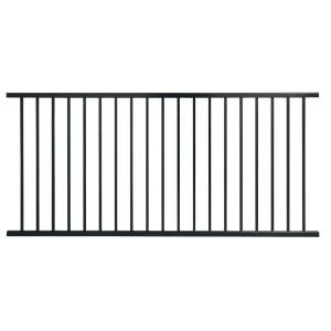 side fencing | Steel fence, Fence panels, Rail fence