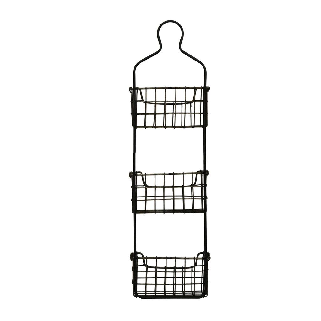 Buy The 3 Tier Wire Basket Wall Organizer By Ashland At Michaels Baskets On Wall Metal Wall Basket Wall Organization