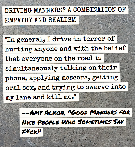 "Amzn Quote Driving Mannersanother Fine Quote From ""good Manners For Nice"