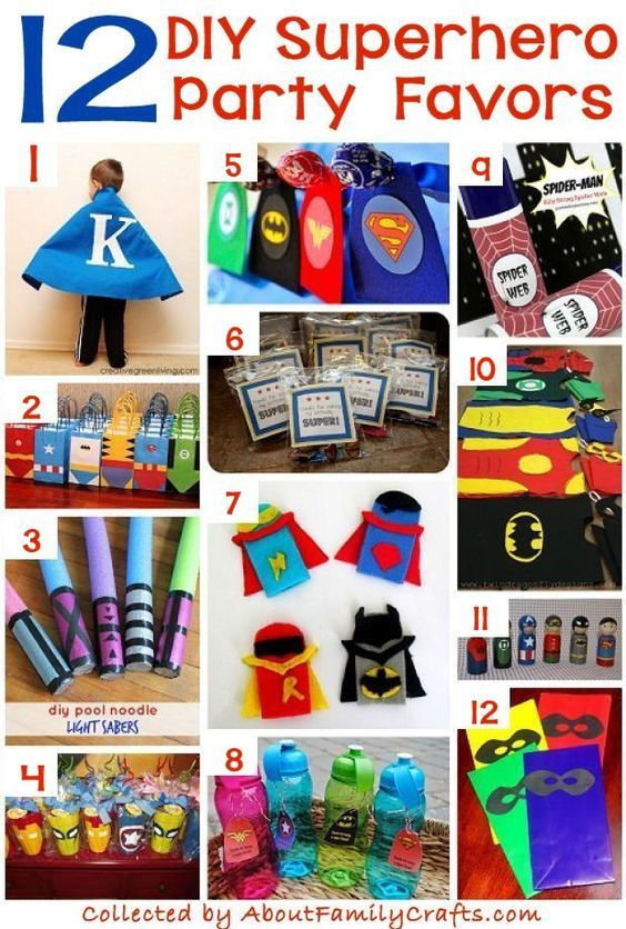 70 Diy Superhero Party Ideas About Family Crafts