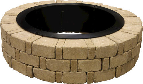 Albany Fire Pit Project Material List 10 1 2 X 2 4 X 3 10 In 2020 With Images Fire Ring Fire Pit Fire Pit Ring