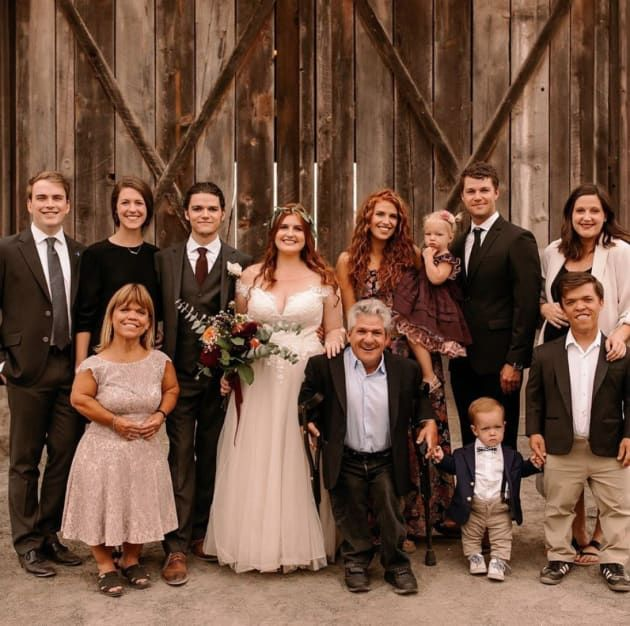 Photo of Little people, big world … Huge question: Why wasn't Chris Marek at Jacob's wedding?