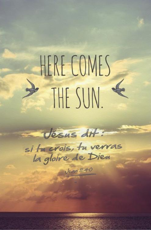 Si Tu Crois Tu Verras La Gloire De Dieu : crois, verras, gloire, Crois,, Verras, Gloire, Dieu., Lyrics,, Quotes,, Beatles