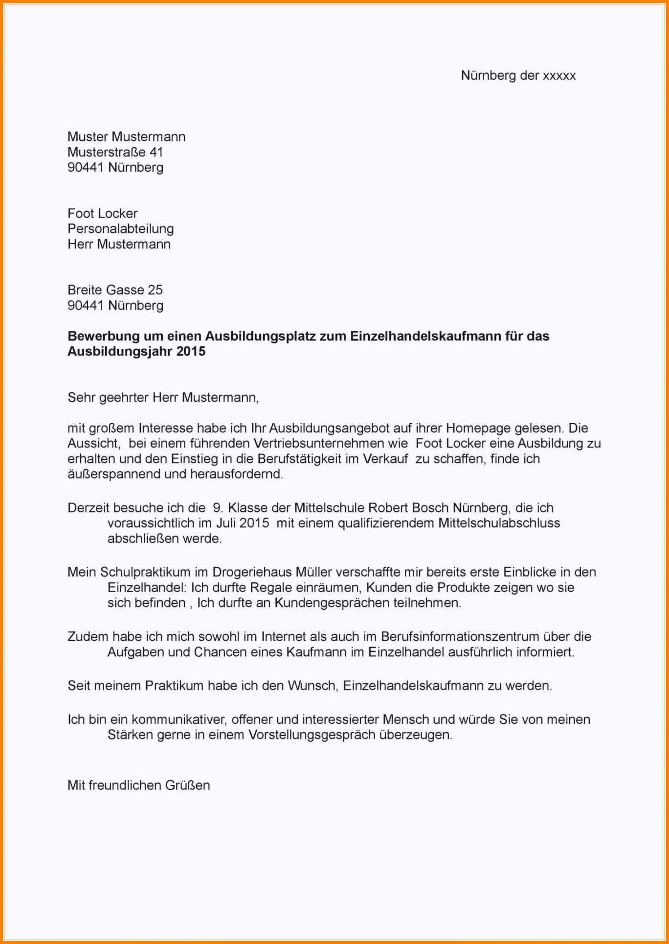 Stellenbewerbung Vorlage Schweiz