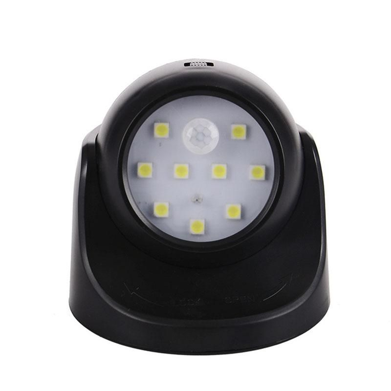 12 5cm Motion Activated Cordless Sensor Led Light Indoor Outdoor Garden Wall Patio Shed Black White Led Light For Garden Sensor Night Lights Night Light Motion Sensor