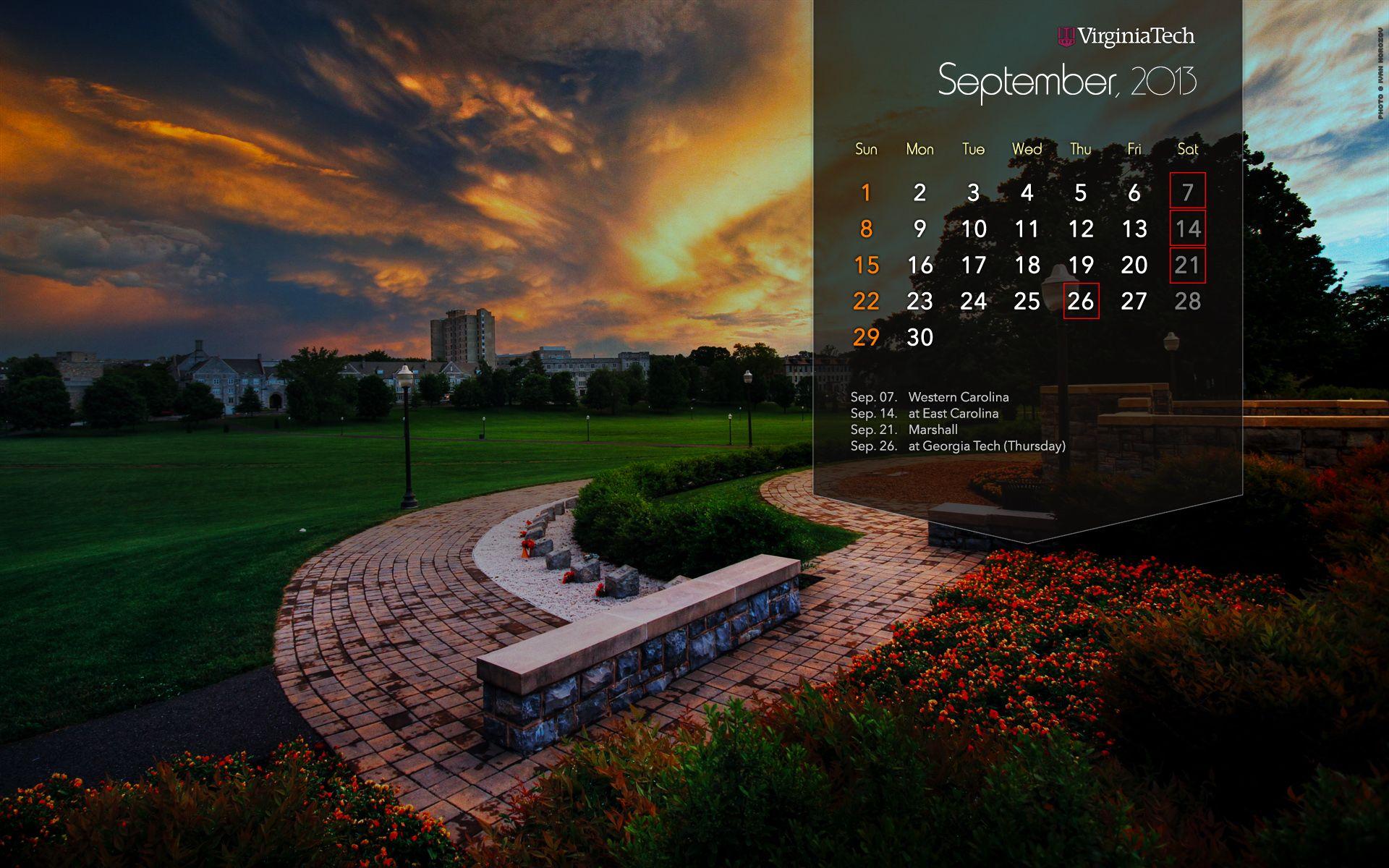 September 2019 Hd Wallpaper Calendar Calendar Wallpaper Desktop Calendar 2019 Calendar