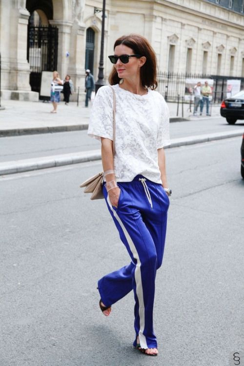 c2f698cfe27b3 thefscrapbook  Hedvig Opshaug wearing Isabel Marant trousers and a lace tee  by Acne