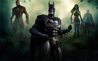 Batman Injustice Gods Among Us Wallpaper Batman Injustice Injustice Superman Games