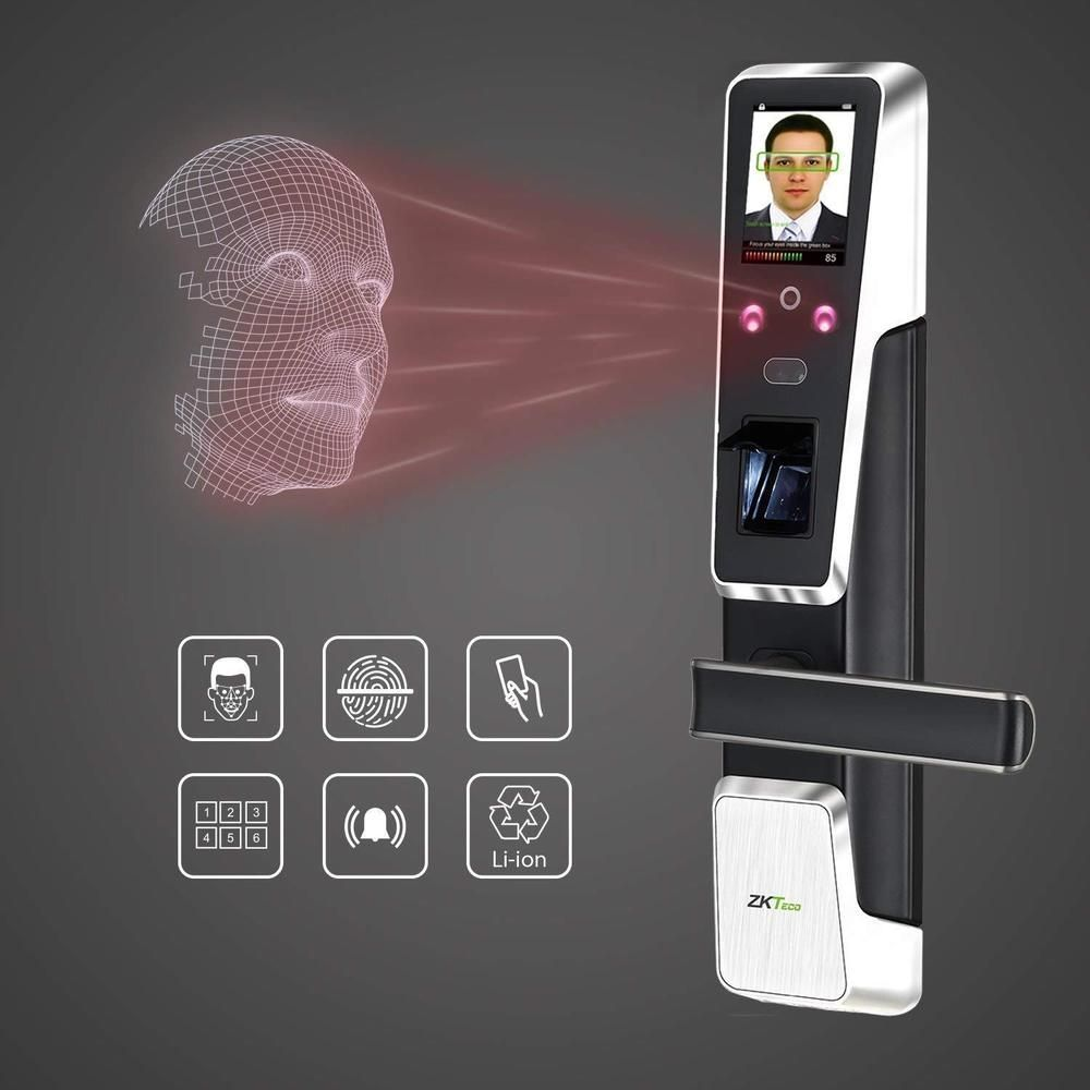 Biometric Door Lock Password Fingerprint Door Lock Face Recognition Keyless Lock Ebay Link Keyless Door Lock Biometric Lock Door Locks