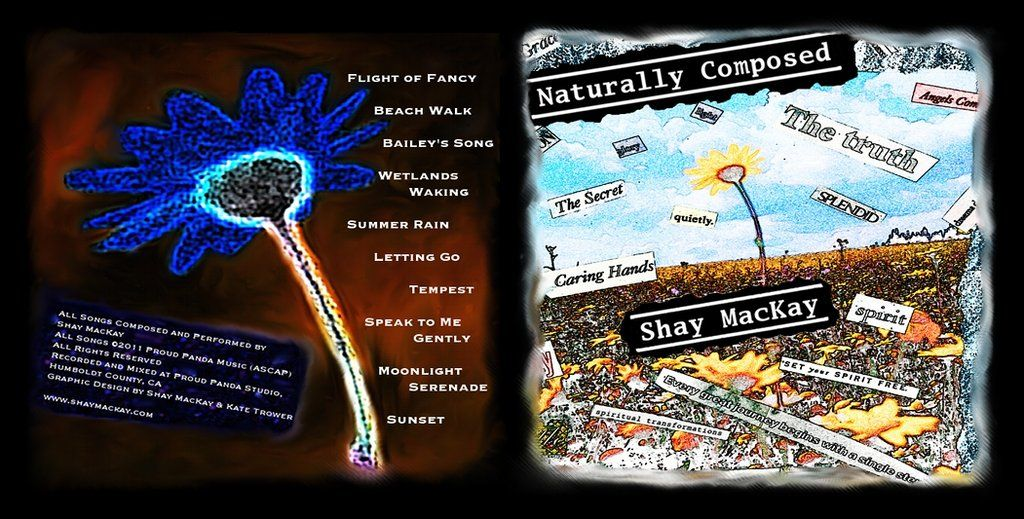 CD jacket for Shay's debut album