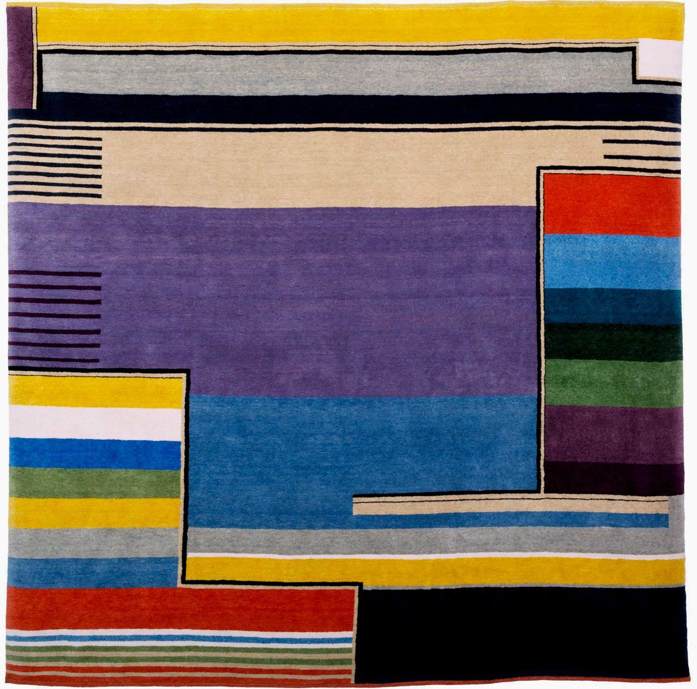 Bauhaus Teppich Bauhaus Kunst Quilt Ideen Textilien