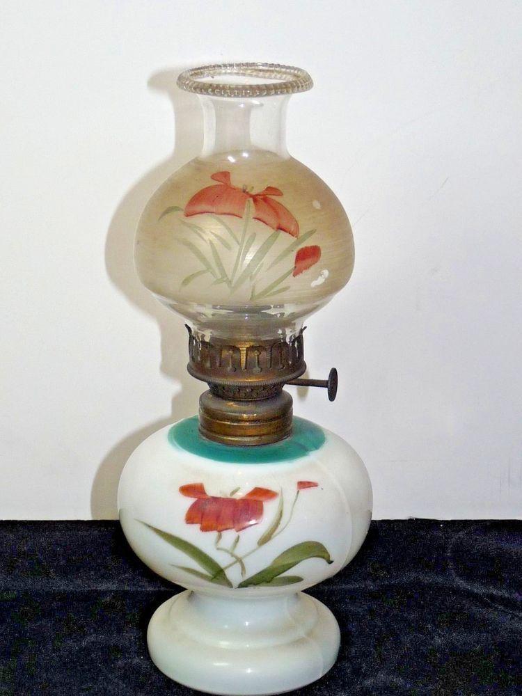 Antique nelly bly miniature oil kerosene lamp orig glass shade antique nelly bly miniature oil kerosene lamp orig glass shade hornet burner nellybly mozeypictures Choice Image
