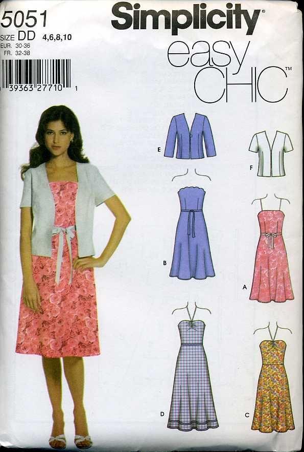 Simple but nice sundress ,,,, ^^ love this pattern   Lolita   Pinterest