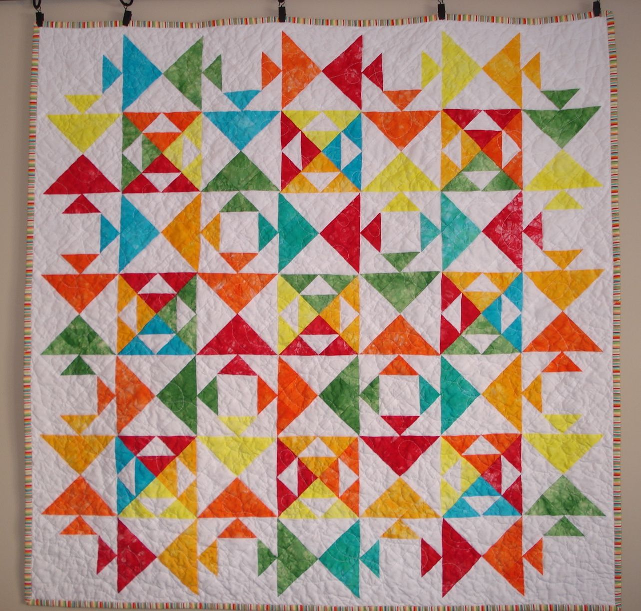 fish colourful youtube quilt watch