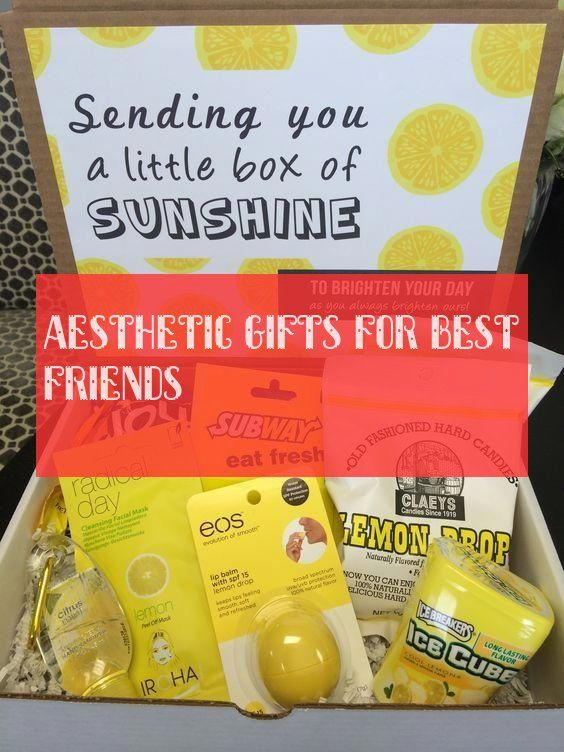 aesthetic gifts for best friends