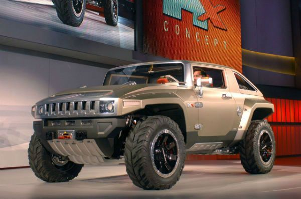 2017 Hummer H4 Is A Two Door Off Road Concept Compact Suv That Was Revealed At The 2008 North American International Auto Show By Hu Hummer Hx Hummer H4 Hummer