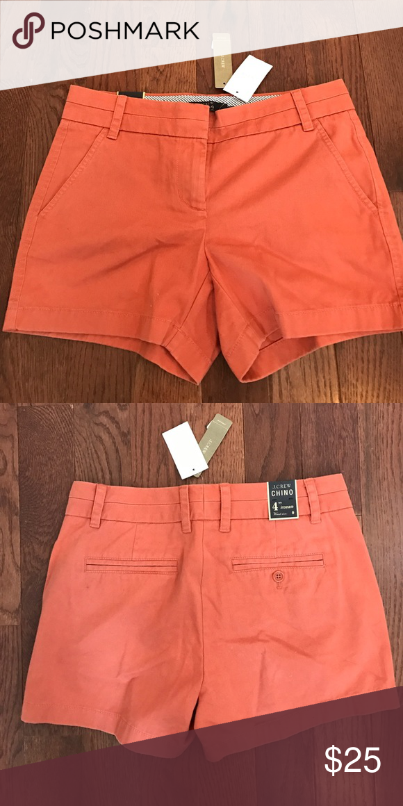 "J. Crew 4"" chino short BRAND NEW size 0 J. Crew 4"" chino short BRAND NEW size 0 J. Crew Shorts"
