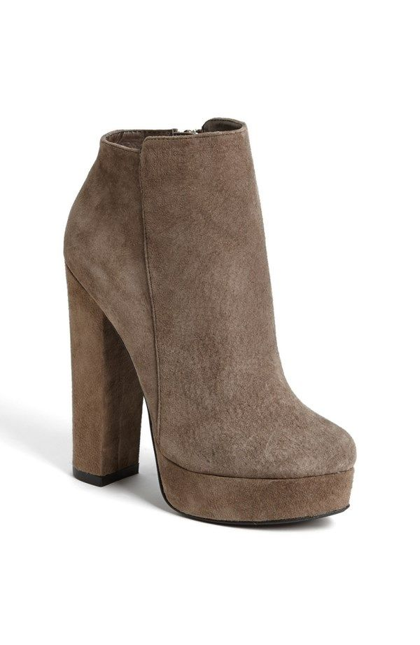 I found you, miss new bootie!!! In love!  Chinese Laundry 'Elise Laughter' Bootie (Limited Edition) | Nordstrom