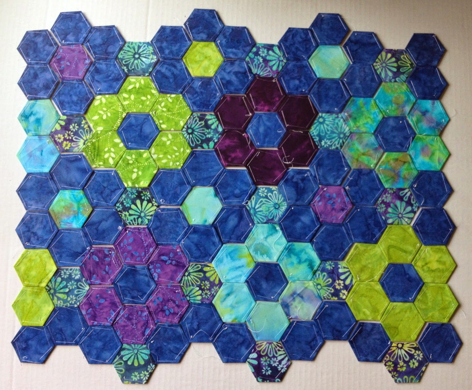 TryllaCraft EPP So Sew Me Quilts Pinterest