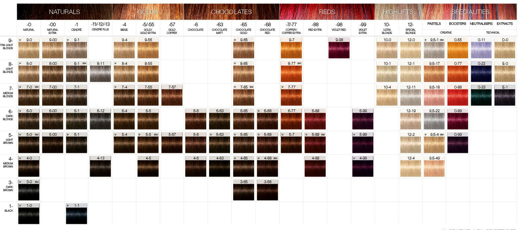 Schwarzkopf igora color chart magical hair pinterest hair schwarzkopf igora color chart nvjuhfo Gallery