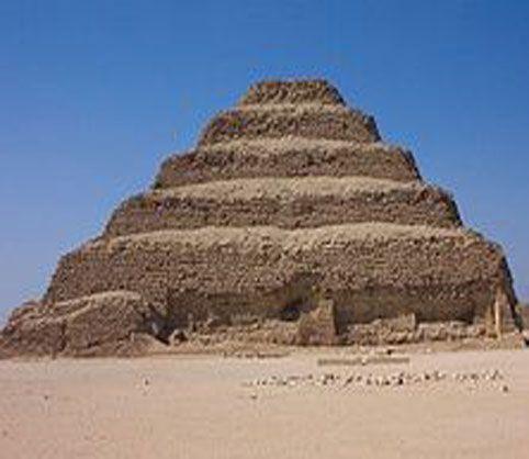 pirámide escalonada. | saqqarah | egipto, arte del antiguo egipto et