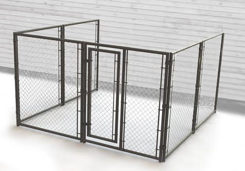 10 X 6 X 10 3 Sided Powder Coated Kennel At Menards Home Decor Coffee Table Menards