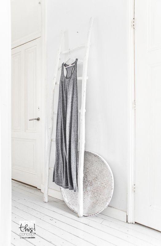 It's my visual life - Paulina Arcklin: Coat rack to the narrow hall