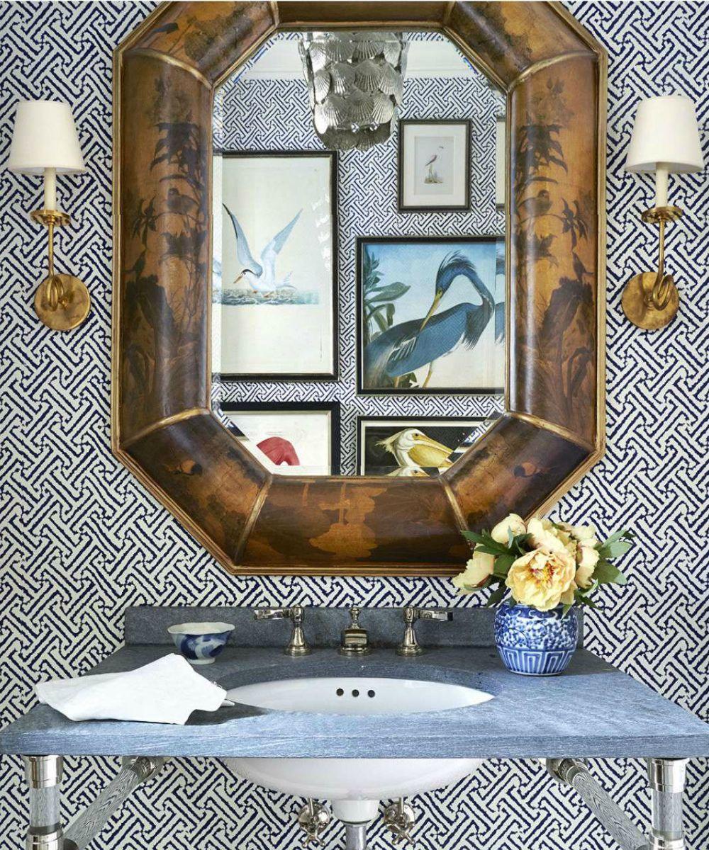 Wallpaper House Beautiful: China Seas Java Grande Wallpaper In House Beautiful May