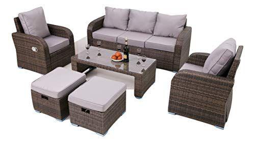 Incredible Angelis Rattan Garden Conservetory Sofa Furniture Set Theyellowbook Wood Chair Design Ideas Theyellowbookinfo