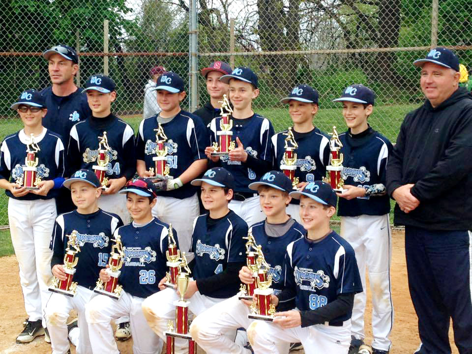 12u Dragons Are Champions At Avon Grove Spring Slam 2016 Tournament West Chester Dragons Travel Baseball Teams Travel Baseball Baseball Team Champion