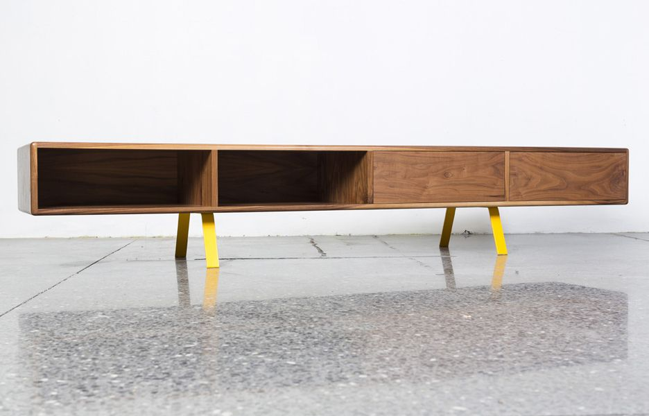 Objects Charlie Brown sideboard by John Beckwith for Tongue