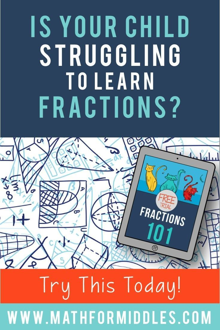 Try Our Fractions Class for Free | Students, Math and Middle school ...