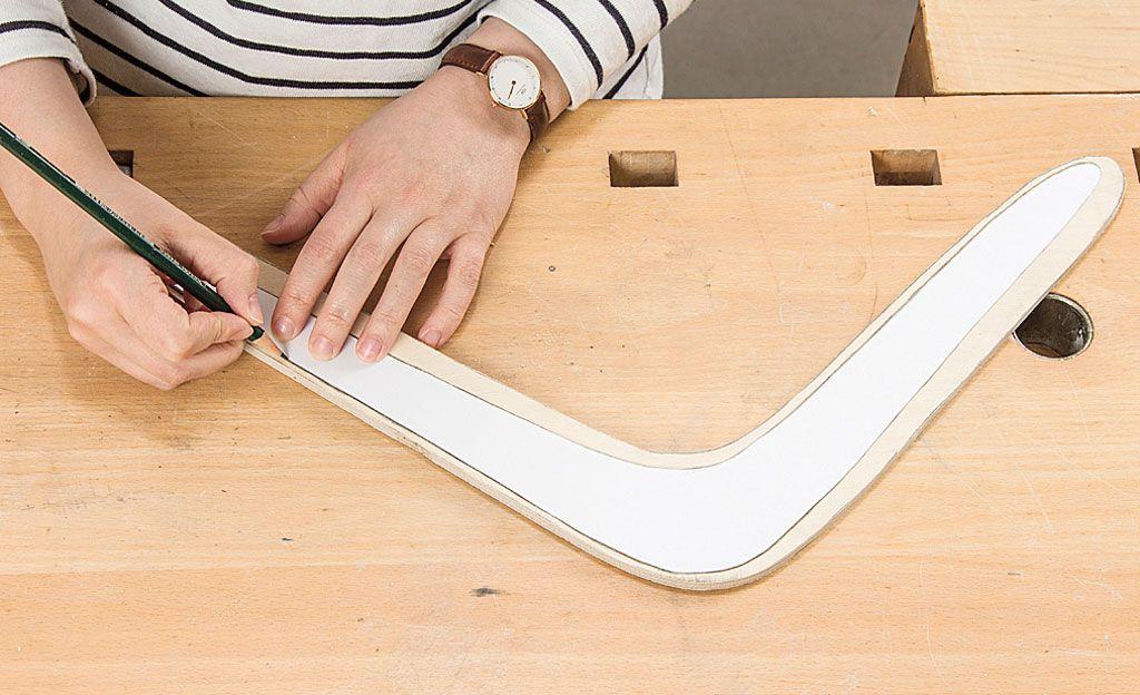 Bumerang Bauen Basteln Mit Holz Anleitungen Und Schritt Fur Schritt Anleitung