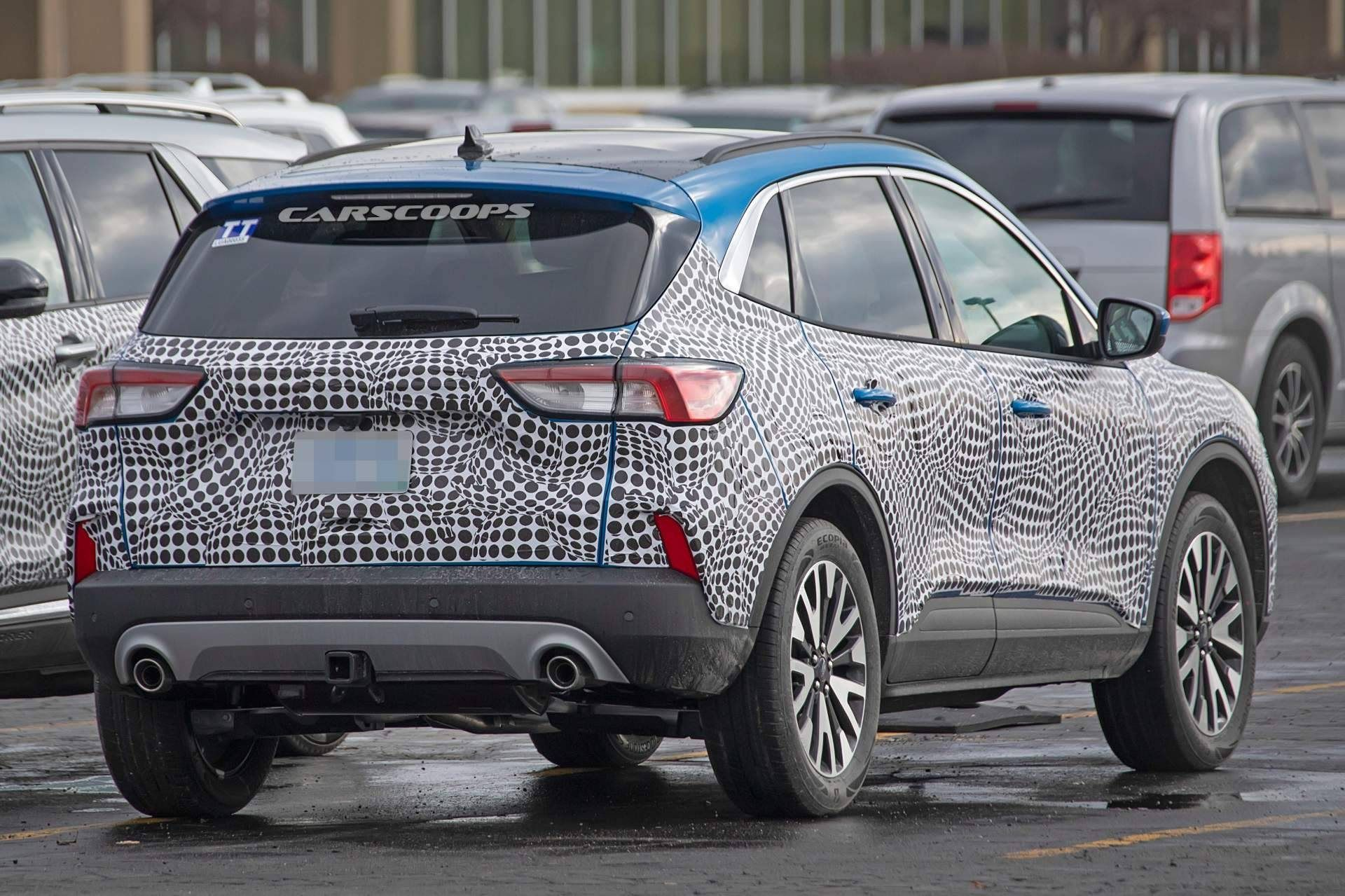 2021 ford Escape Spy Shoot in 2020 Ford escape, Ford