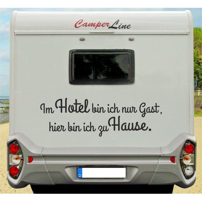 Camping Hacks Caravan Wohnwagen Wohnwagen Aufkleber Wohnmobil