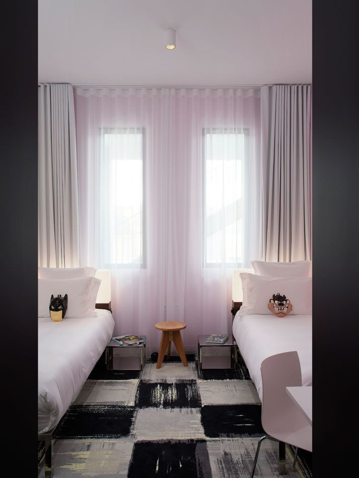 The new mama shelter hotel by philippe starck in bordeaux france bordeaux france philippe - Hotel mama shelter bordeaux ...