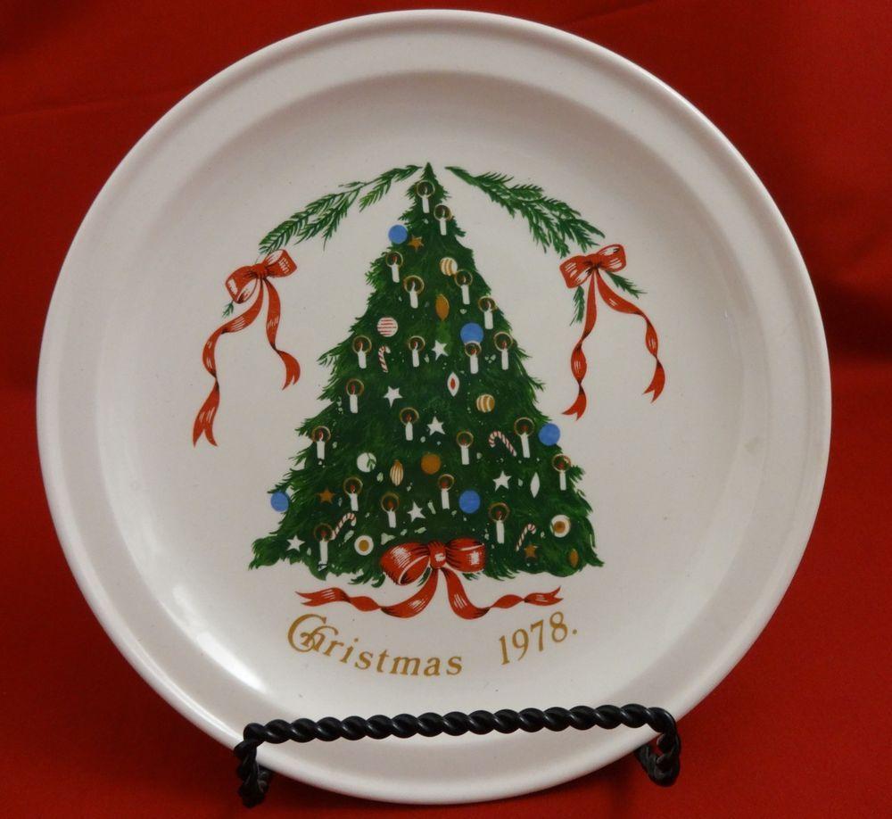 Christmas Plate Lillian Vernon 1978 Christmas Tree 7 Ireland Christmas Plates Lillian Vernon Christmas Items