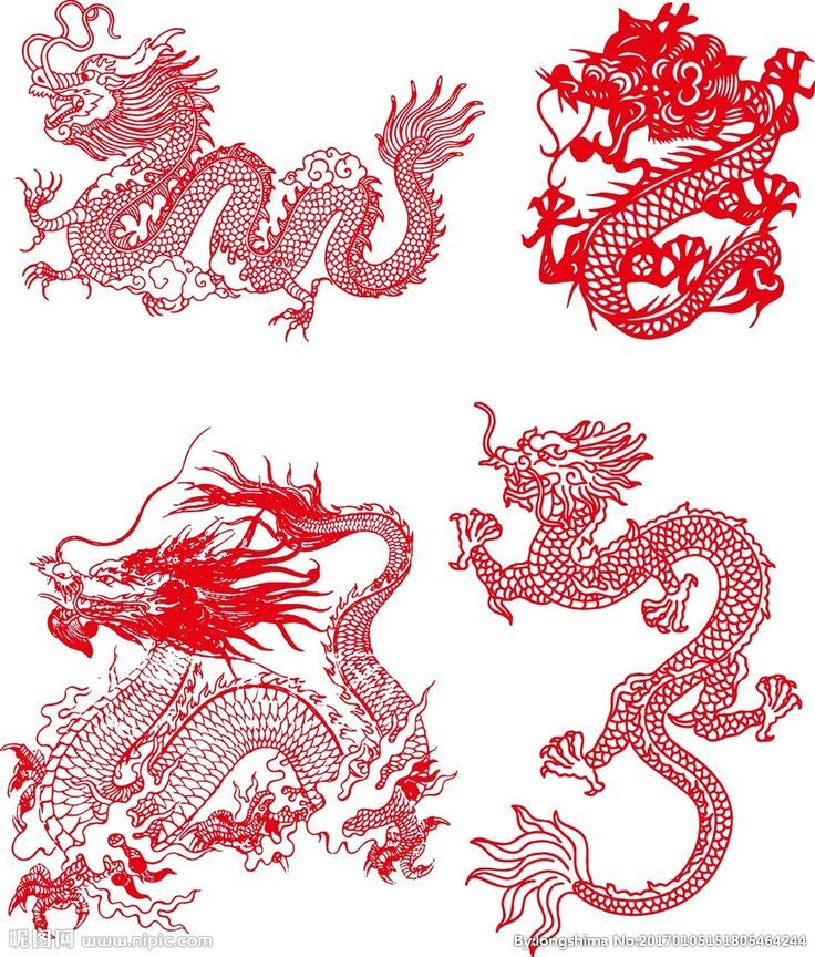 пригодные картинки в стиле китайских татуировок вашему