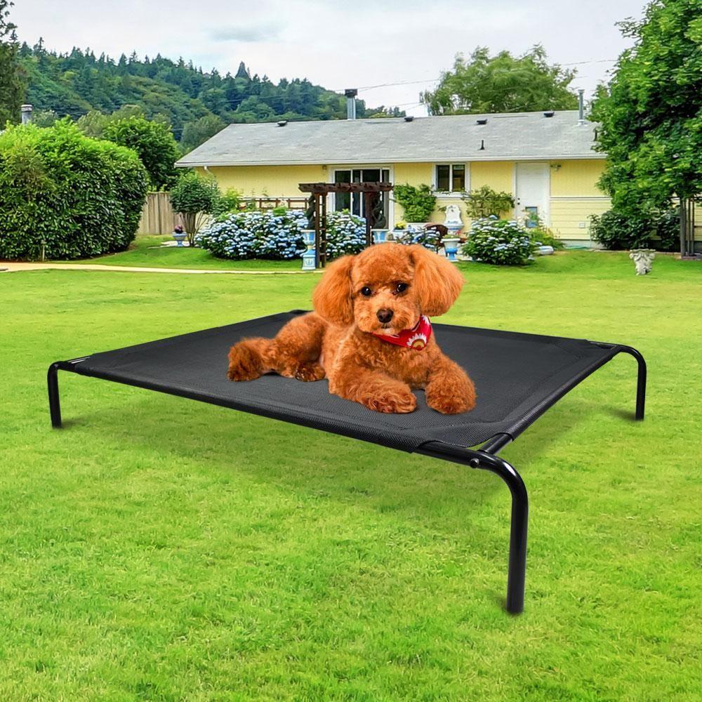 Small Mesh Pet Trampoline Black in 2020 Pet furniture
