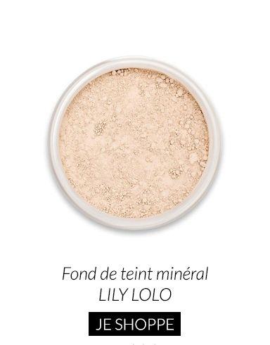 Fond de teint minéral Lily Lolo #lilylolo