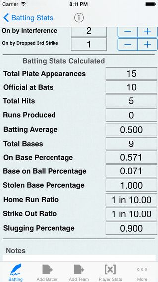 Batting Tracker Baseball Stats For Players Baseball Baseball Mom Softball Season