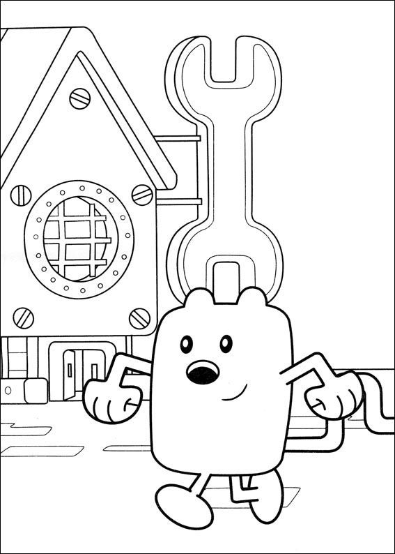Wow Wow Wubbzy Coloring Pages 16 | Coloring pages for kids | Pinterest