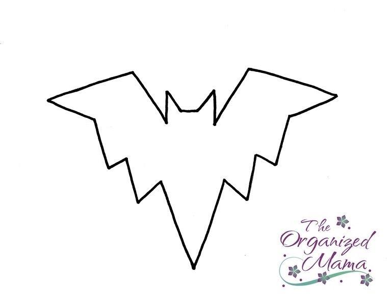 Halloween Craft Tutorial The Bat \ - halloween template