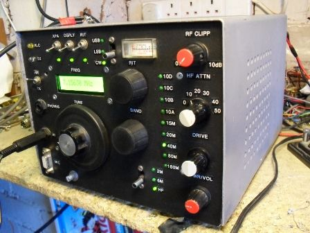 Homebrew HF, 6m, 2m multimode transceiver | Radio Stuff- Amateur