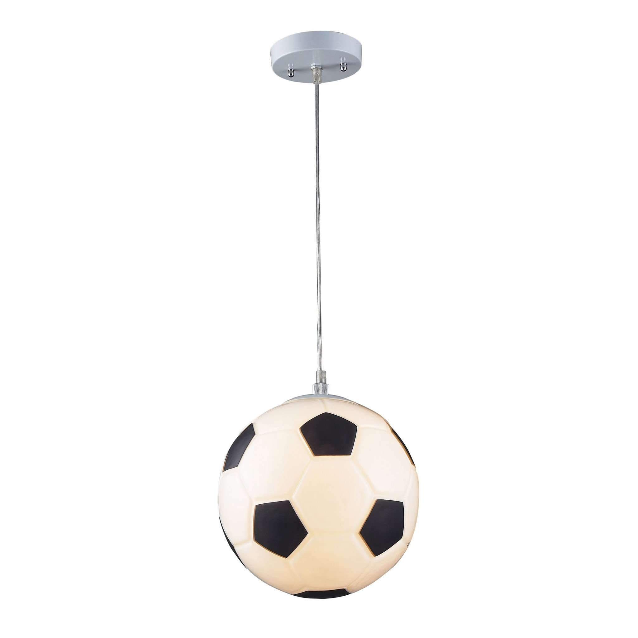 products and pin soccer light pendant in novelty ball silver