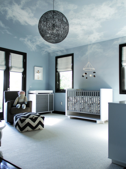 Vaulted Ceiling For A Boy S Room Lighting Inspiration