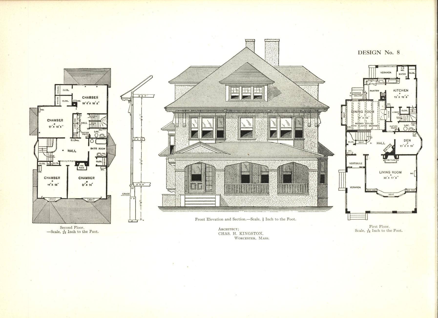Cement Houses And Private Garages With Constructive Details David Williams Co Free Download Borrow And Streaming Internet Archive Cement House Vintage House Plans Architecture