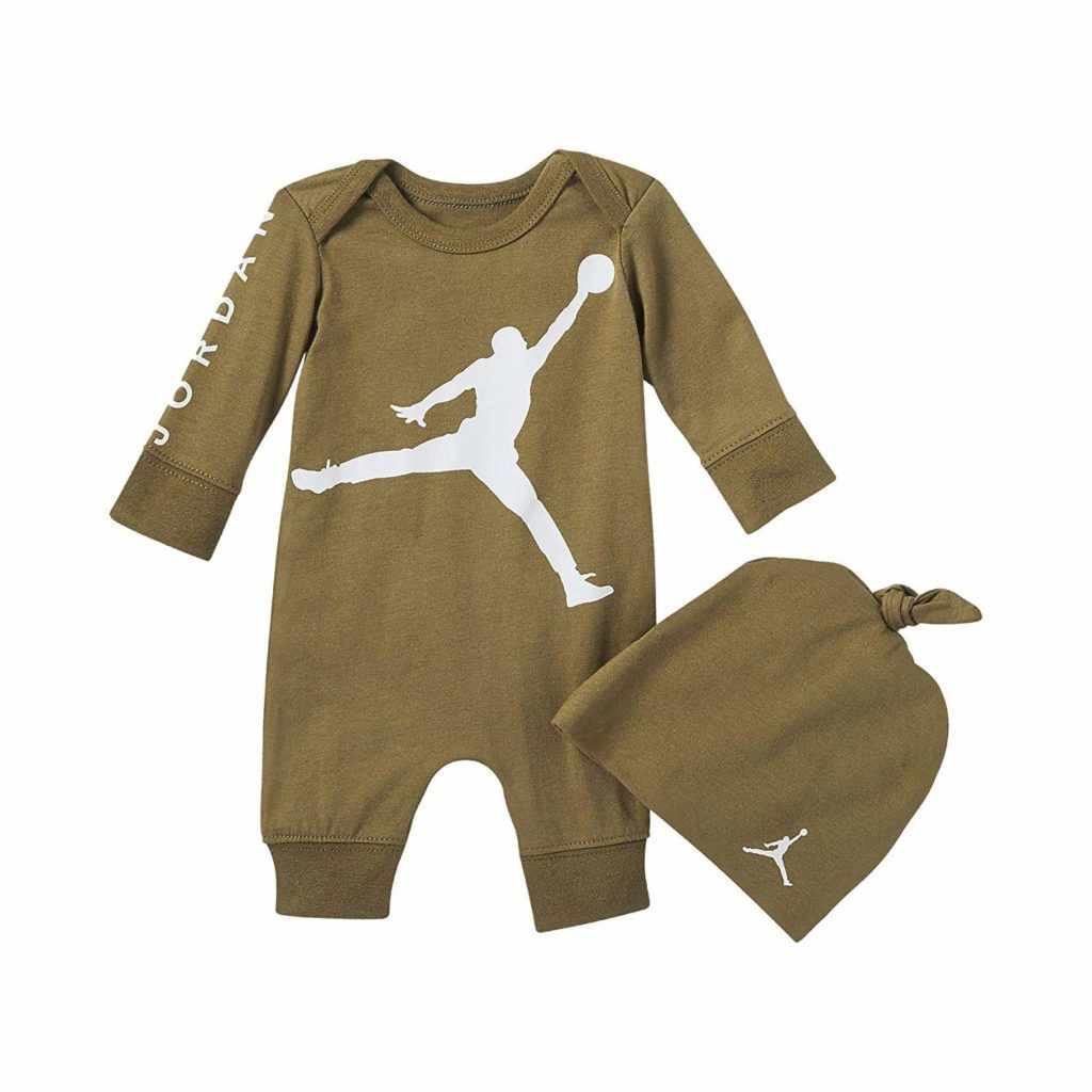 Baby Boys Air Jordan Infant Jump Man Coverall Baby Clothes Baby Clothing Baby Boy Clothes Baby Girl Clothes Cheap Name Brand Clothes For Kids Toddler Nam Stylish Baby Clothes Toddler Boy Outfits