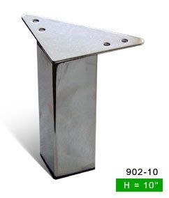 Alpha Furnishings Straight 10 Inch H Metal Furniture Leg 902 10 Alpha Furnishings Http Www Amazon Com Metal Furniture Legs Furniture Legs Furniture Hardware