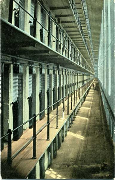 The tiers of cells, Sing Sing | Crime (Other) | Prison life, Jail